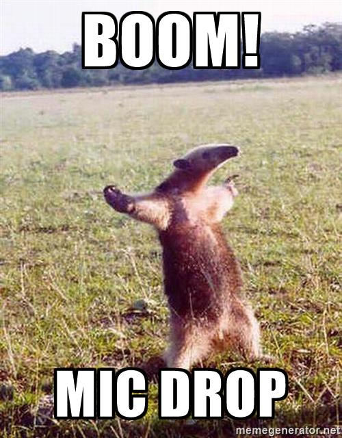 anteater-boom-mic-drop